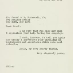 Letter : 1946 November 12
