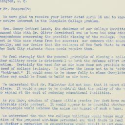 Letter : 1952 April 21