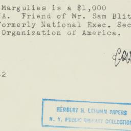 Note : 1952 May 12