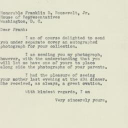 Letter : 1954 February 6
