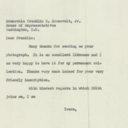 Letter : 1954 March 15