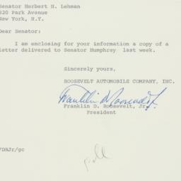 Letter : 1960 June 22