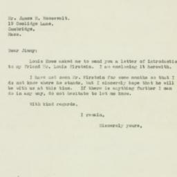 Letter : 1932 March 16