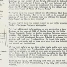 Letter : 1941 February 3