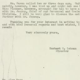 Letter : 1943 March 8