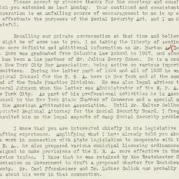 Letter : 1937 January 28