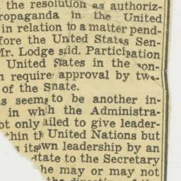Clipping : 1953 November 5