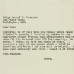 Letter : 1944 October 25