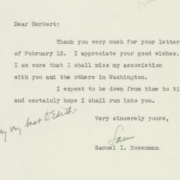 Letter : 1946 February 19