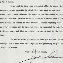 Letter : 1917 April 18