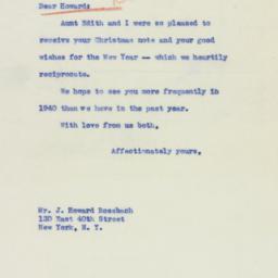 Letter : 1940 January 10