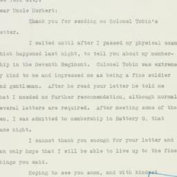 Letter : 1940 October 1