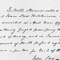 Document, 1796 April 30