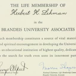 Certificate : n.d.