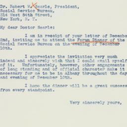 Letter : 1941 December 6