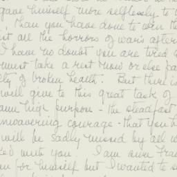 Letter : 1946 April 24