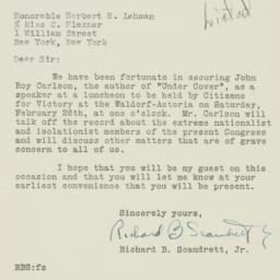 Letter : 1944 February 15