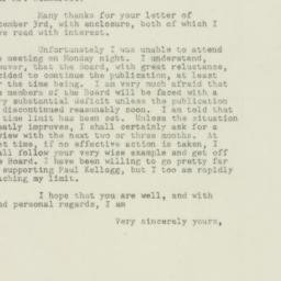 Letter : 1948 December 8