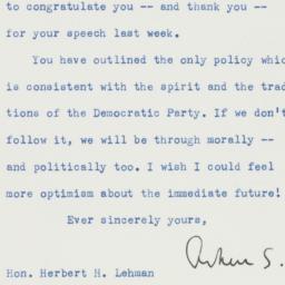 Letter : 1957 January 26