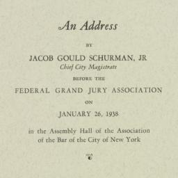 Pamphlet : 1938 January 26
