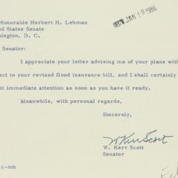 Letter : 1956 January 17