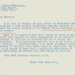 Letter : 1936 September 21