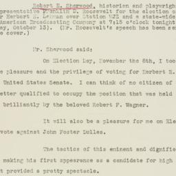 Press release : 1949 Octobe...