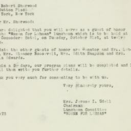Letter : 1950 October 16