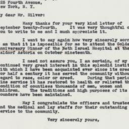 Letter : 1941 September 29