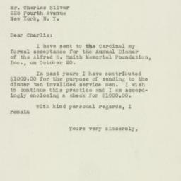 Letter : 1949 September 23