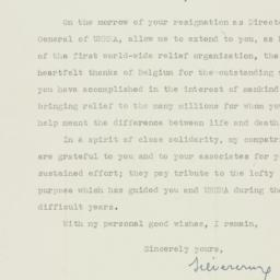Letter : 1946 March 19