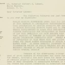 Letter : 1932 December 3