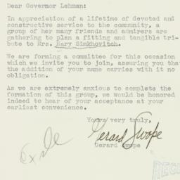 Letter: 1934 April 9