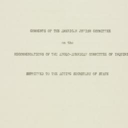 Manuscript : 1946 June 18