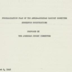 Manuscript : 1946 August 6