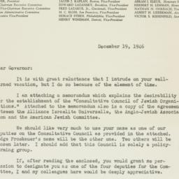 Letter : 1946 December 19