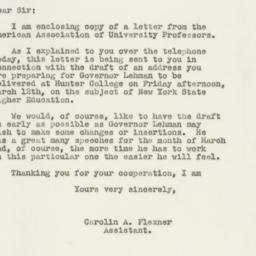 Letter : 1948 February 25