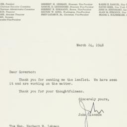 Letter : 1948 March 24