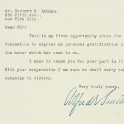 Letter: 1928 August 8