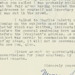 Letter : 1940 May 21