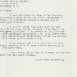 Letter : 1957 February 28