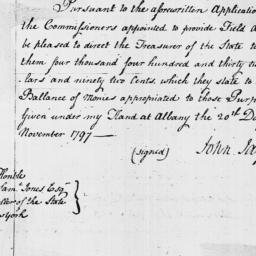 Document, 1797 November 20