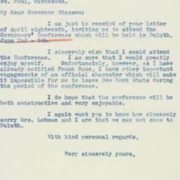 Letter : 1940 April 27