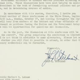 Letter : 1947 October 14