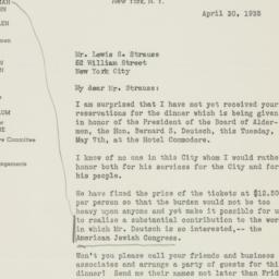 Letter : 1935 April 30