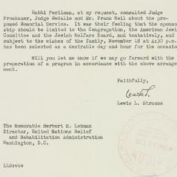 Letter : 1945 October 23