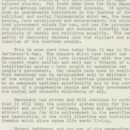 Manuscript: 1943 January 8