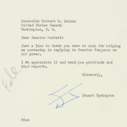 Letter : 1954 April 10