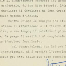 Letter : 1946 April 26