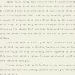Letter : 1956 August 30